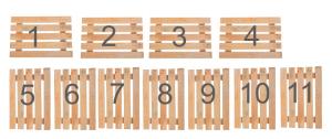 Схема паллет