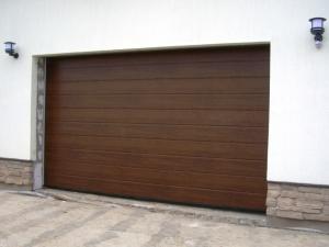 Cекционные стальные ворота Hormann