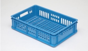 Ящик пластиковый, низкий, «кондитерский», для пряников, выпечки, булочек, пирожных, печенья