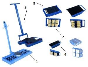 Конструкция такелажных тележек