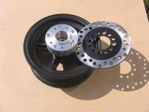 Разобранное колесо