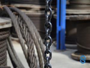 Круглозерненые высокопрочные калиброванные цепи