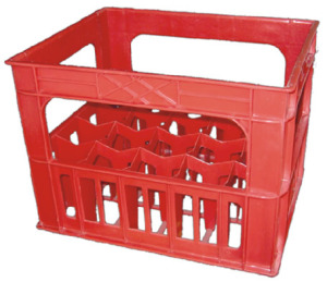 Пластиковый «водочный» ящик