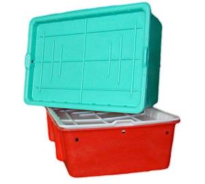 Пластиковый ящик для мяса и рыбы