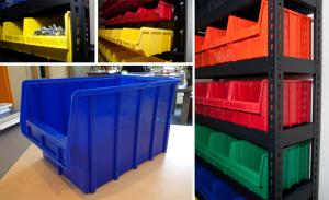 Ящик – стеллаж с различной длиной ножек – от 100 мм до 300 мм