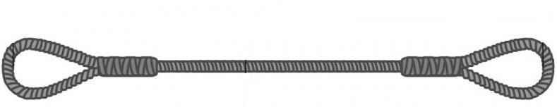 Заплеточный строп