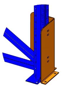 Защитное ограждение фронтального и углового типа
