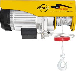 Тельфер электрический, 0,5 т, 900 Вт Denzel