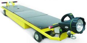 Самоходная тележка с большой платформой удлиненного типа